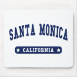 Santa Monica California College Style tee shirts Mouse Pad
