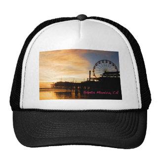 Santa Monica California Trucker Hat