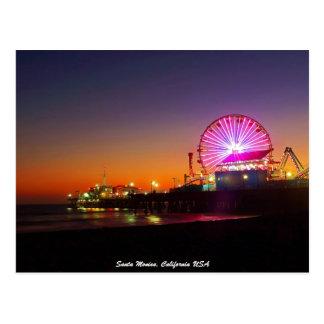 Santa Mónica, California los E.E.U.U. Postales
