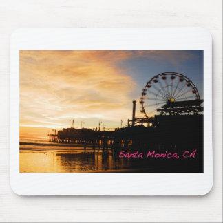 Santa Monica California Mouse Pad