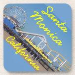 Santa Monica California Pier Drink Coaster