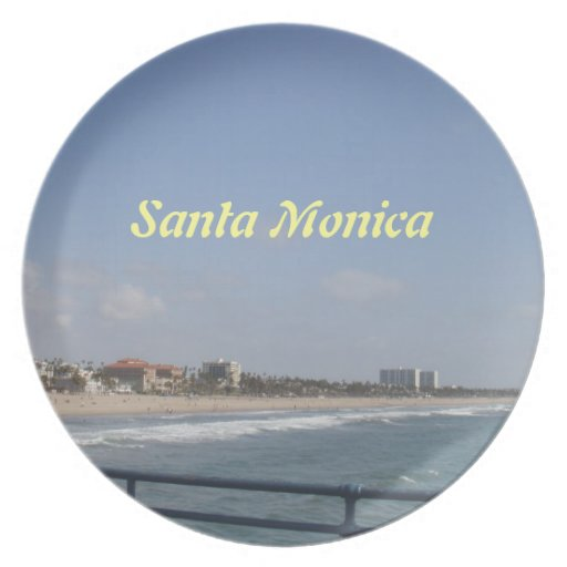 Santa Monica, California Plates