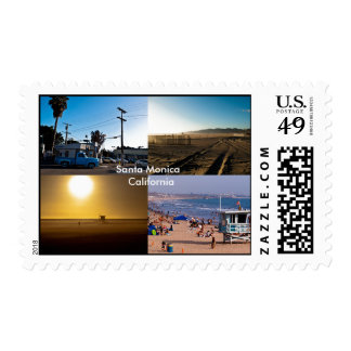 Santa Monica - California Stamps