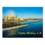 Santa Monica California Postcard