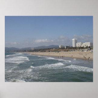Santa Monica, California Poster