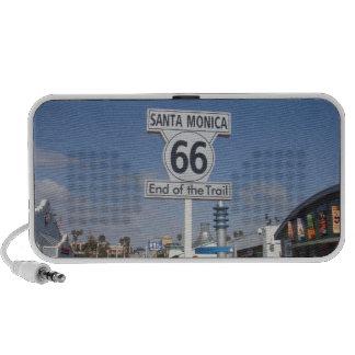 Santa Mónica, California - RT 66 Altavoz De Viajar