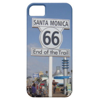 Santa Mónica, California - RT 66 Funda Para iPhone 5 Barely There