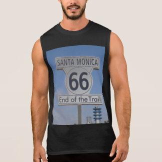 Santa Mónica California - RT 66 Camisetas Sin Mangas