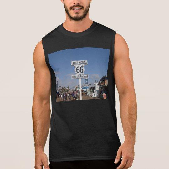 Santa Monica, California - RT 66 Sleeveless Shirt