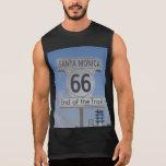 Santa Monica, California - RT 66 Sleeveless T-shirt