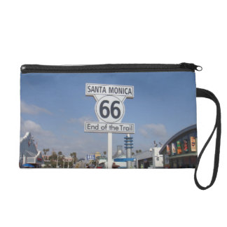 Santa Monica, California - RT 66 Wristlet Purse