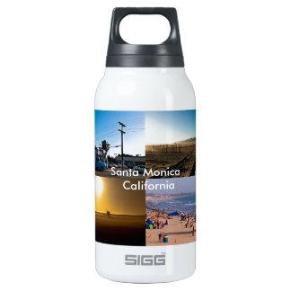 Santa Monica - California Thermos Water Bottle