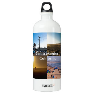 Santa Monica - California Water Bottle