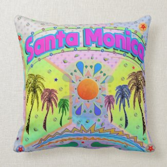 Santa Monica Calm Desire Pillow