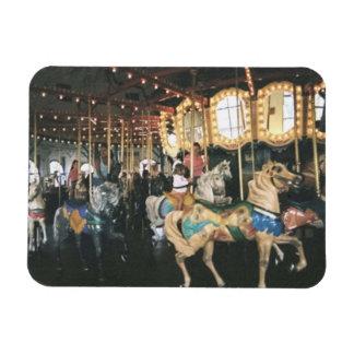 Santa Monica Carousel Premium Magnet