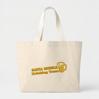 Santa Monica Drinking Team tee shirts Jumbo Tote Bag