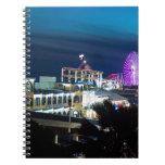 Santa Mónica en la noche Libros De Apuntes Con Espiral