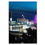 Santa Mónica en la noche Pizarra