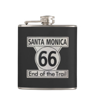 Santa Monica End of the Trail Route 66 Flask