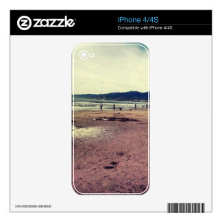 Santa monica iPhone 4S decals