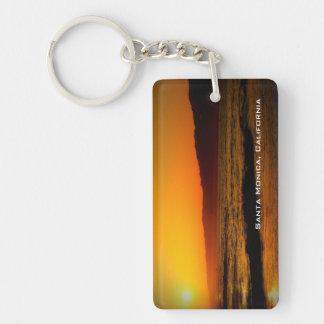 Santa Monica Keychain Acrylic Key Chain
