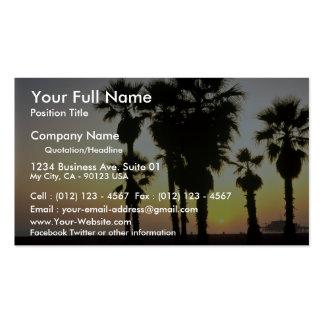 Santa Mónica Los Ángeles California los E E U U Tarjeta De Visita