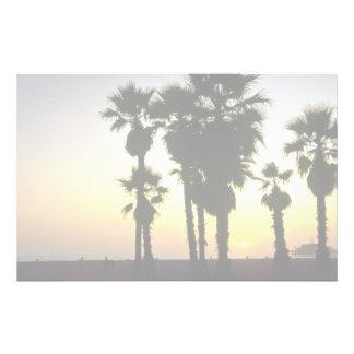 Santa Monica, Los Angeles, California, U.S.A. Custom Stationery