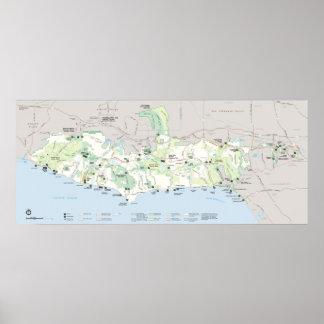 Santa Monica Mountains National Recreation Area Poster