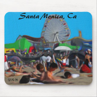 Santa Monica Mouse Pad
