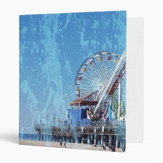 Santa Monica Pier Binder