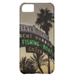 Santa Monica pier iPhone 5C Cases
