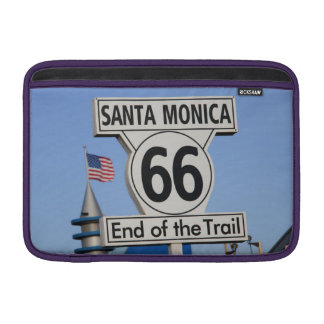 Santa Monica Pier - End of the Trail MacBook Sleeves