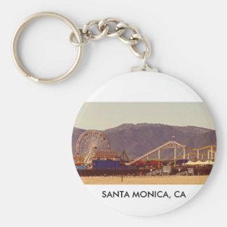 Santa Monica Pier - Keychain 01