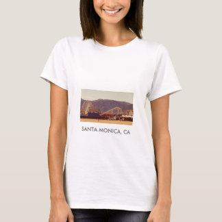 Santa Monica Pier - Ladies Baby Doll T-Shirt