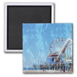 Santa Monica Pier Magnet