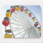 Santa Monica Pier Mouse Pads