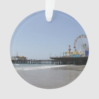 Santa Monica Pier Ornament