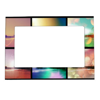 Santa Monica Pier Photo Collage Magnetic Picture Frame