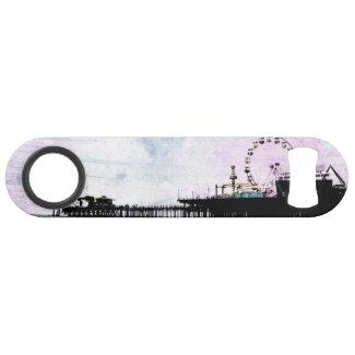 Santa Monica Pier Pink Grunge Speed Bottle Opener