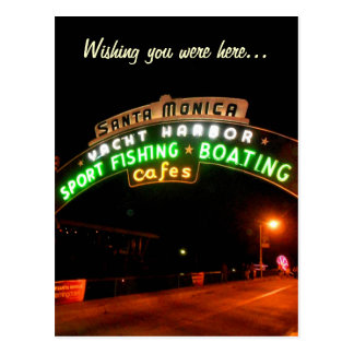 Santa Monica Pier Post Card
