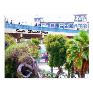 SANTA MONICA PIER post card