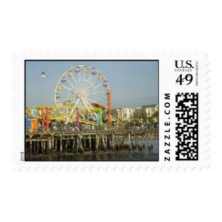 Santa Monica Pier Stamp