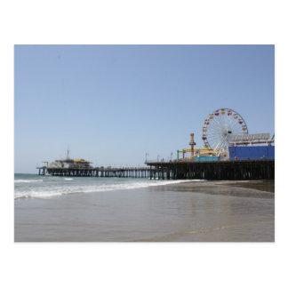 Santa Monica Pier Postcard