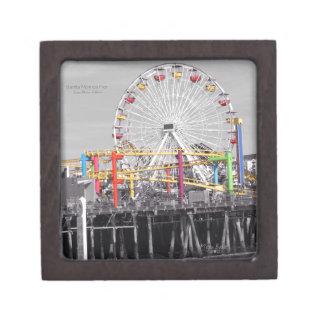 Santa Monica Pier Premium Keepsake Box