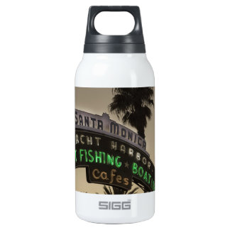Santa Monica pier Thermos Water Bottle