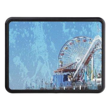 Santa Monica Pier Trailer Hitch Cover