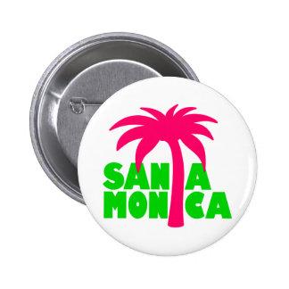 Santa Mónica Pin Redondo 5 Cm