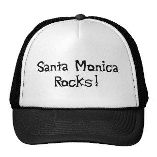 Santa Monica Rocks Trucker Hat