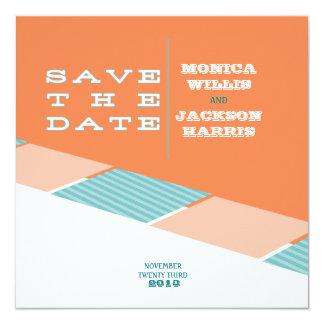 Santa Monica Save the Date:  Orange Crush Card