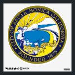 "Santa Monica Seal Wall Sticker<br><div class=""desc"">Large Santa Monica City Seal Sticker</div>"